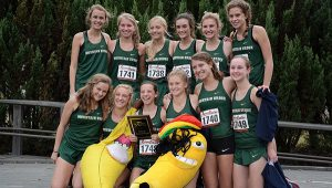 At Thursday's Class 7A, Section 3 meet, the Mountain Brook High School girls and boys cross-country teams swept sectionals.