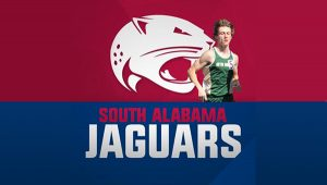 Senior Charlie Slaughter makes it official and commits to the University of South Alabama. Congrats, Charlie and Go Jags!